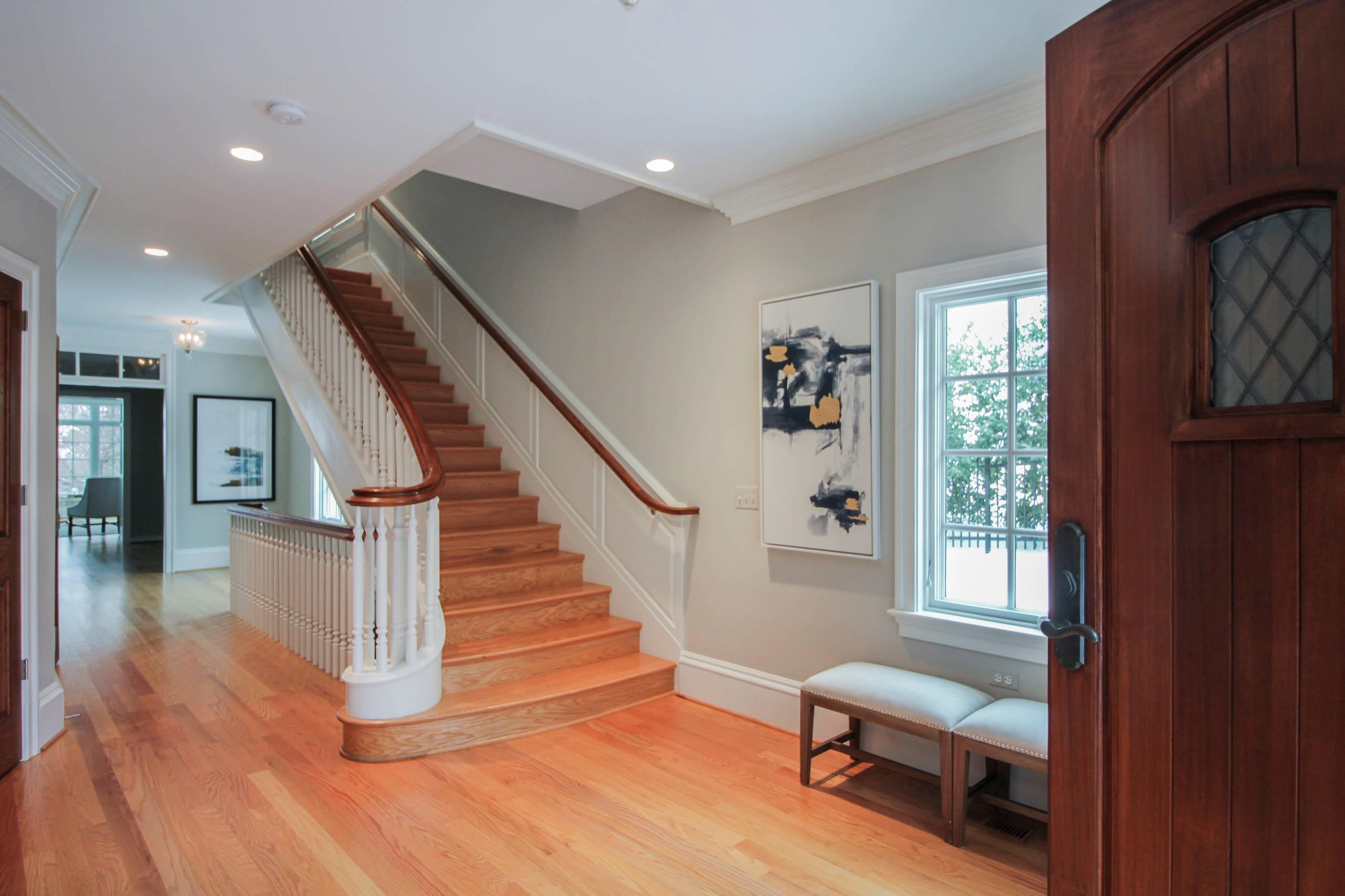 49_Old-World Luxurious Staircase, Arlington VA 22207