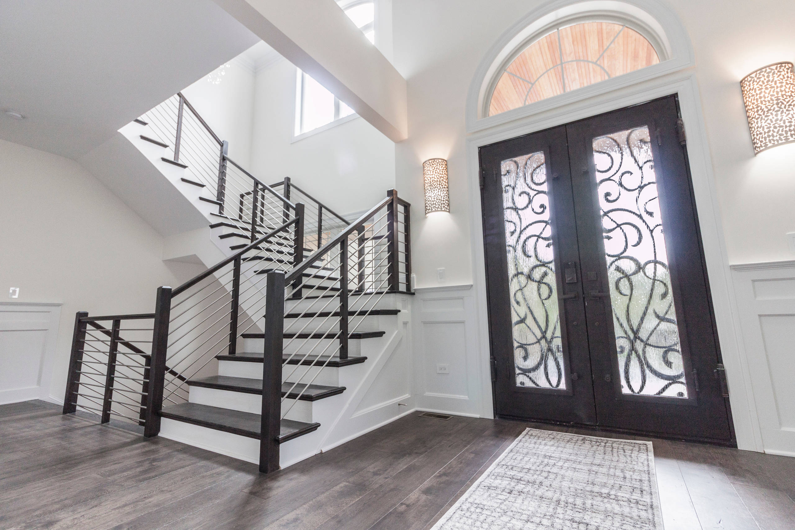 50_Striking Elegance and Simplicity in Floating Staircase, Vienna VA 22182