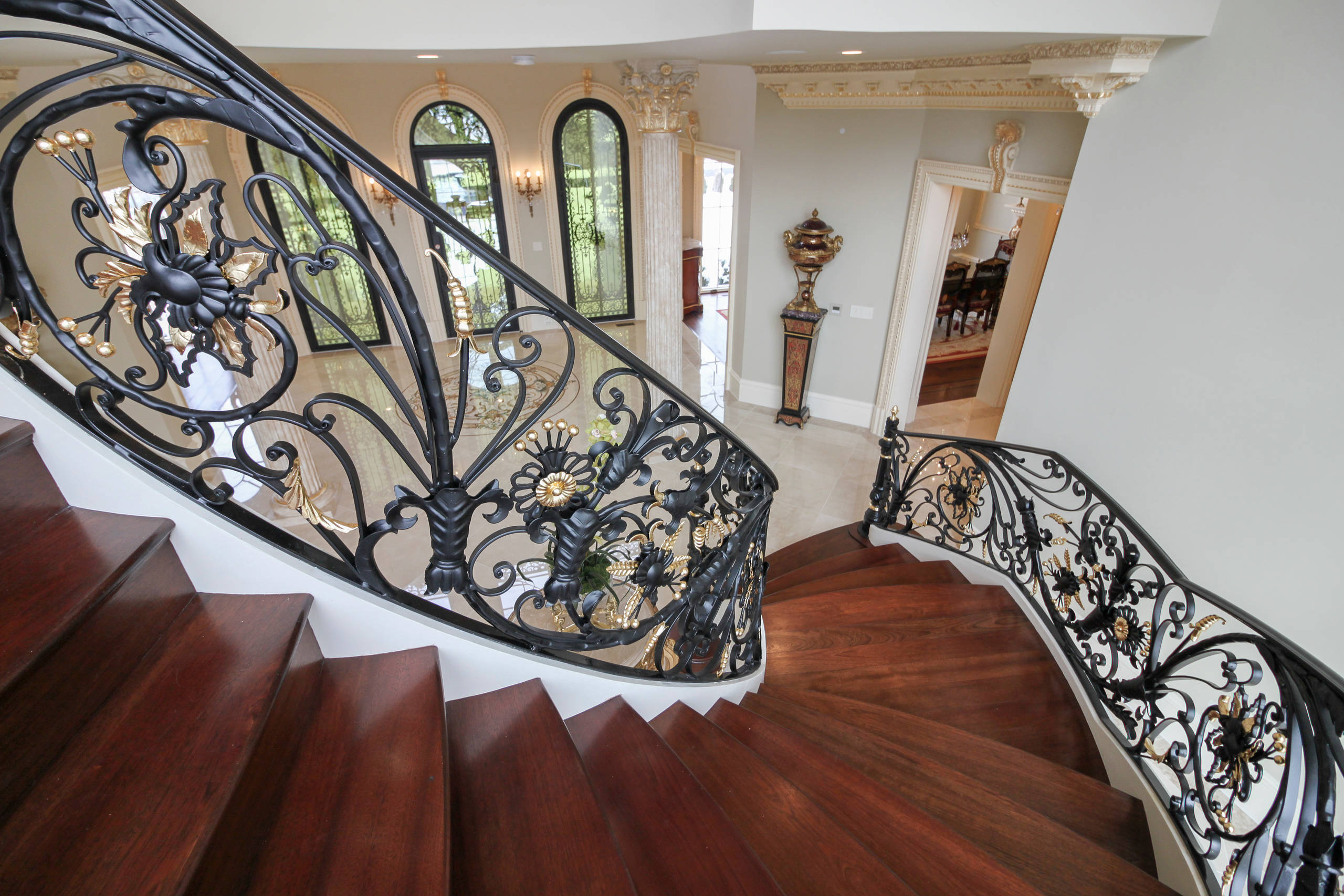 63_Sophisticated Grand Staircase, Great Falls VA 22066