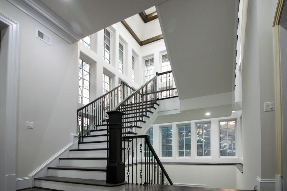 Freestanding Mezzanine Staircase, McLean VA 22101