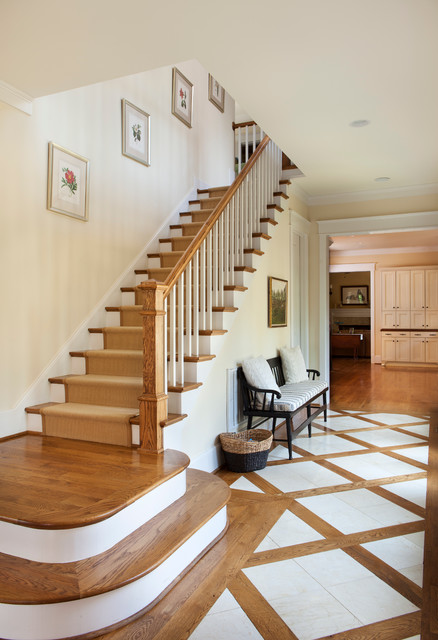 925 Hudson Place traditional-staircase