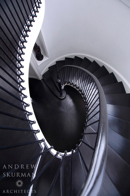 A City Residence traditional-staircase