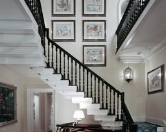A Classical Journey: The Houses of Ken Tate traditional staircase