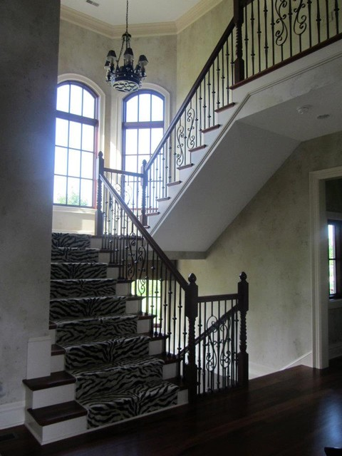 A Columbus Resident eclectic-staircase