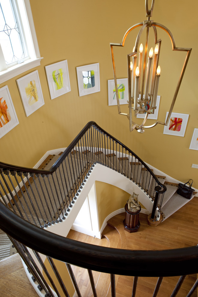 Staircase - traditional staircase idea in DC Metro