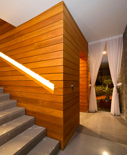A House at Ramat-Chen (Architects: V-Studio) contemporary-staircase