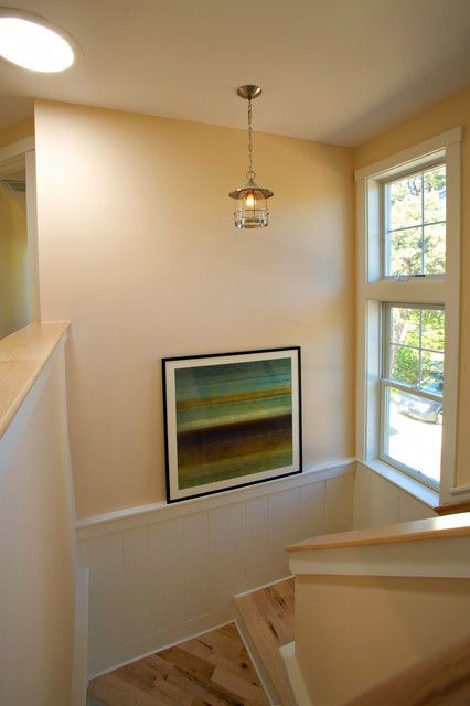 A House overlooking Nantucket Sound traditional-staircase