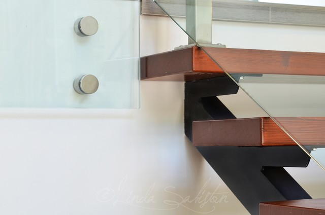 A little bit of everything contemporary staircase