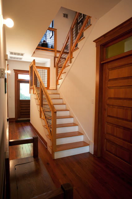 A New Old Home traditional-staircase
