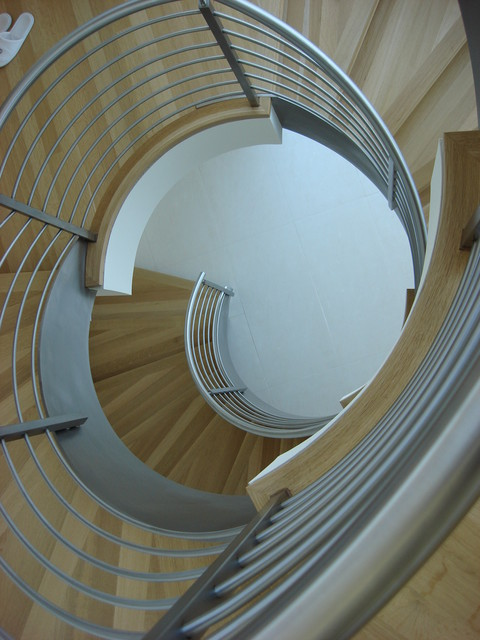 A Warm Belvedere Contemporary on Golden Gate STAIR modern-staircase