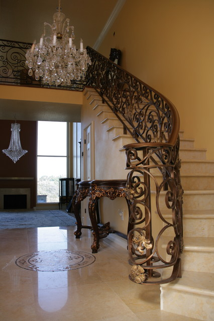 AB Designs & Remodeling House Work traditional-staircase