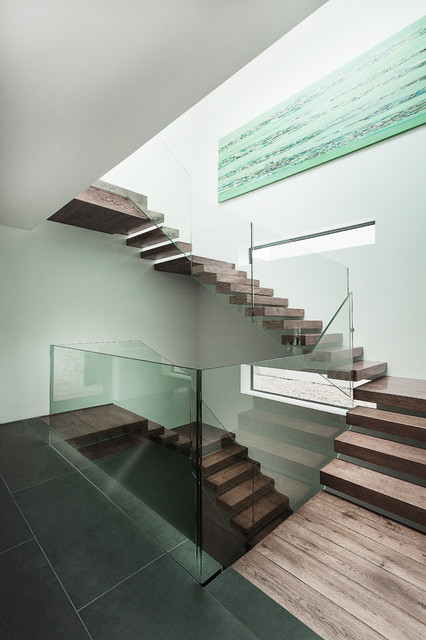 Abbots Way modern-staircase