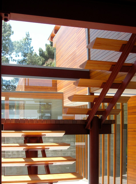 Acari House contemporary-staircase