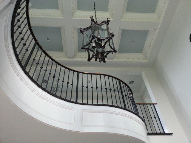 Example of a staircase design in Miami