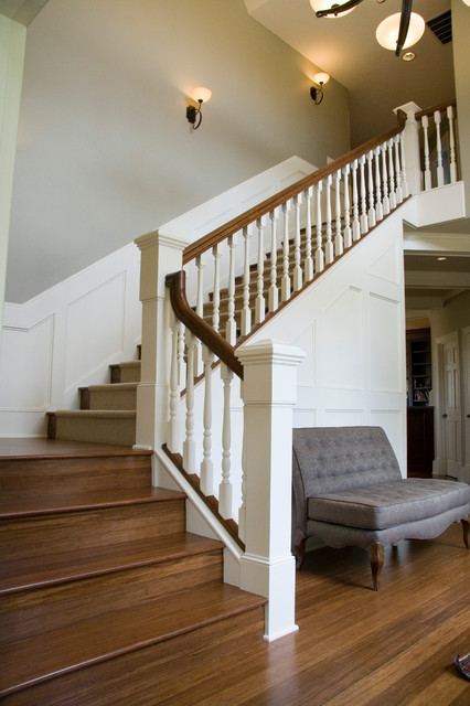 Adding Class To A 90 S House Traditional Staircase