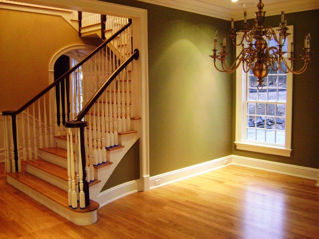 Advantage Contracting Portfolio traditional-staircase
