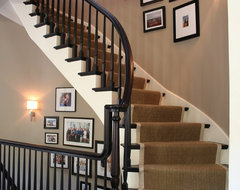 Burling Street Home traditional staircase