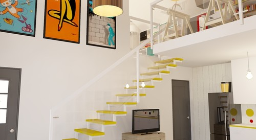 Agata Winer contemporary staircase