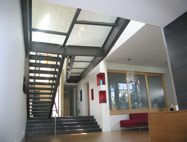 AJ Residents contemporary-staircase