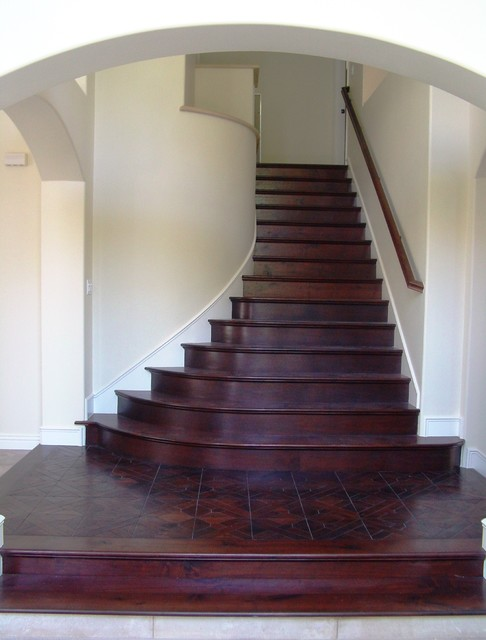 Aliso stairs traditional-staircase