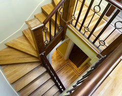 Alpine Terrace eclectic-staircase