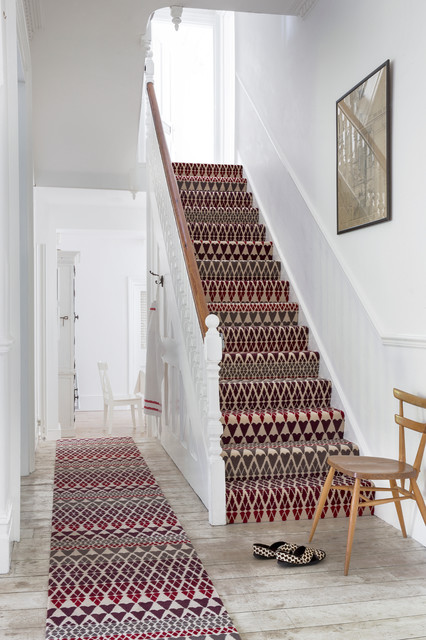 Wonderful Alternative Flooring   Quirky B Fair Isle Reiko Carpet Traditional Staircase