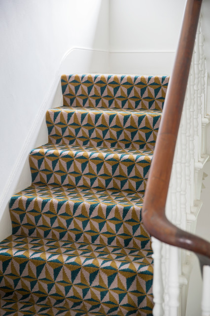 Alternative Flooring   Quirky B Tetra Hooke Carpet Contemporary Staircase