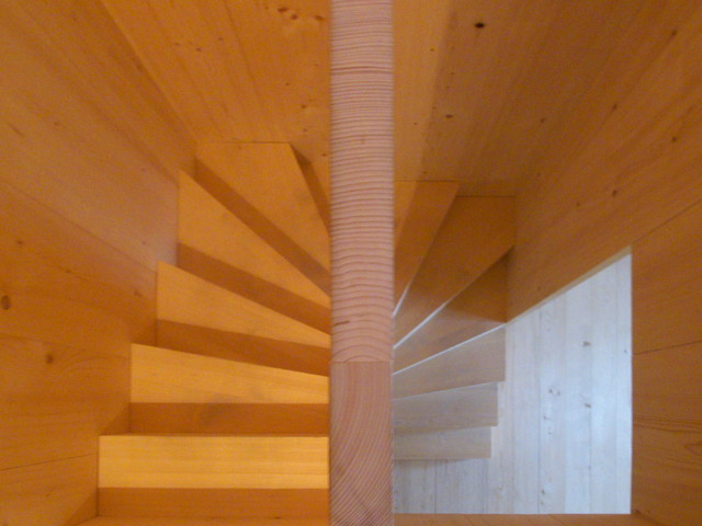 contemporary staircase by John Hill