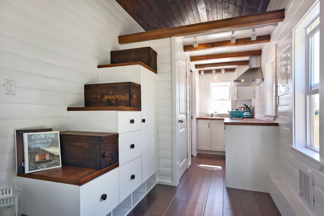 Amalfi Edition Tiny Home - Beach Style - Staircase - Vancouver - by ...