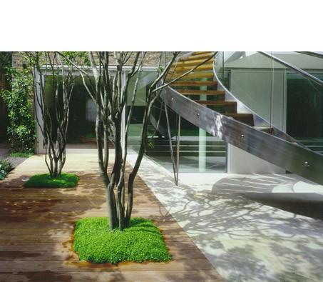 Amalgam : Interior design and architecture modern-staircase