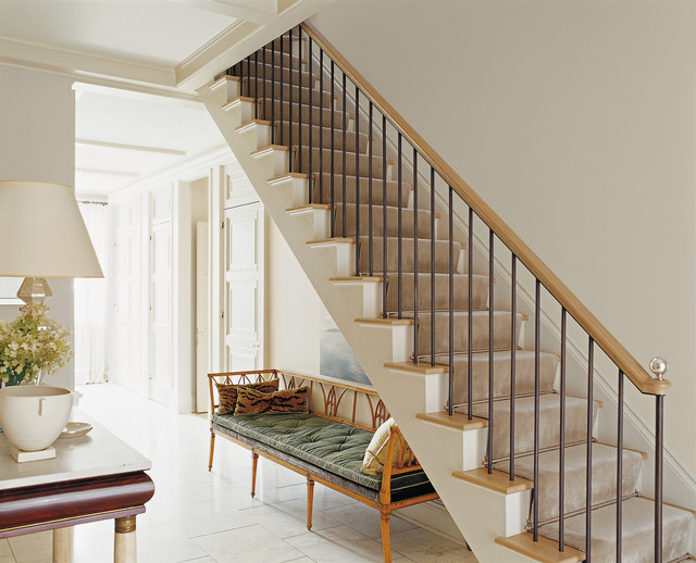 american modern thomas o brien   traditional   staircase