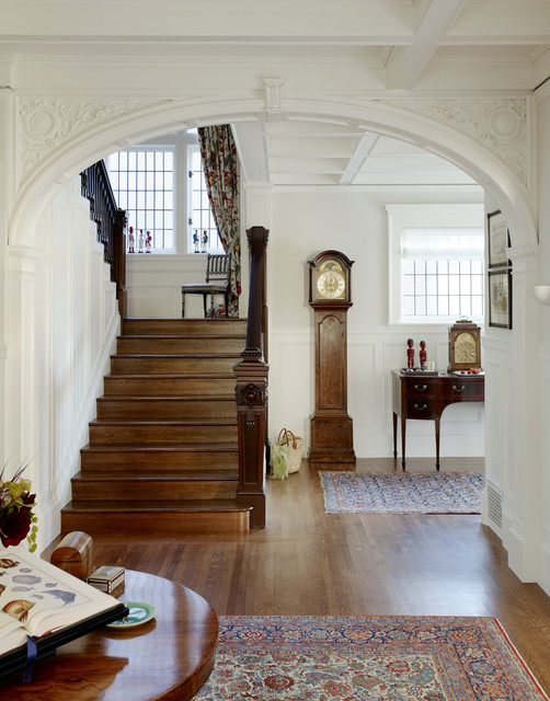 An Updated Classic traditional-staircase