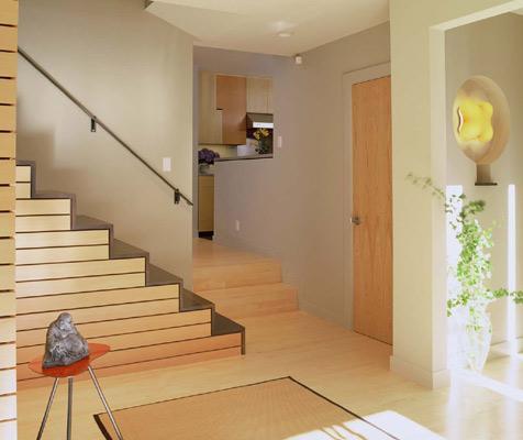 Andre Rothblatt, Architect Interiors modern-staircase