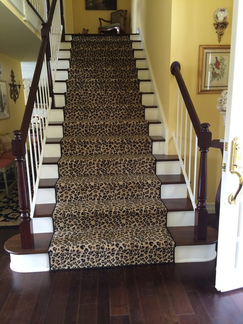 Animal Print Carpet Rugs Runners Traditional Staircase