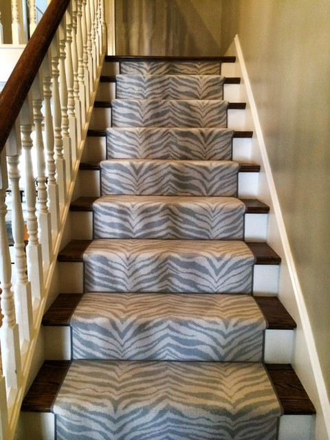 Animal print stair runner for Leopard print wall to wall carpet