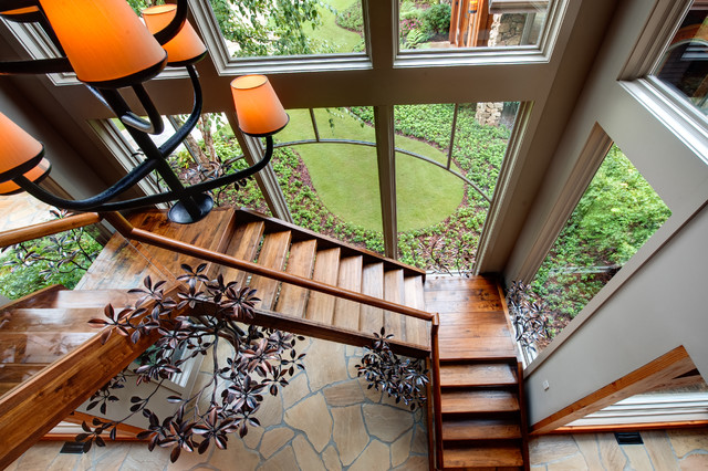 Apple Farm modern staircase
