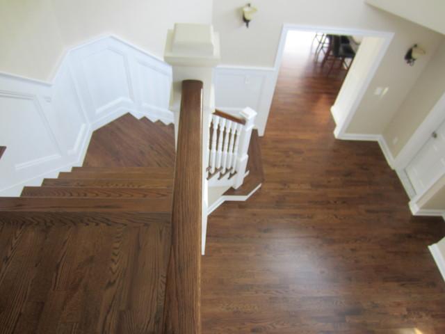 Aquebogue New Construction 3 1 4 Quot Red Oak Installed