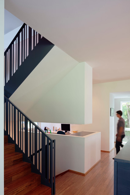 Architect's Residence modern-staircase