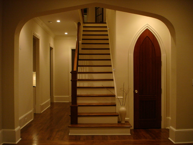 Architectural Details traditional-staircase