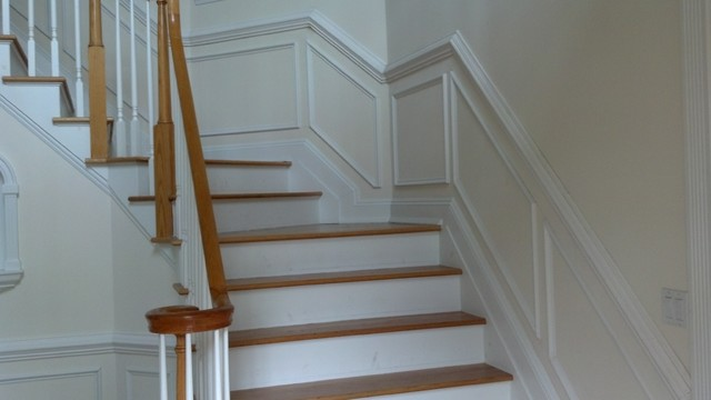 Architectural Shadow Box Wainscoting Traditional
