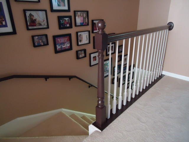 Arlington Heights Town Home eclectic-staircase
