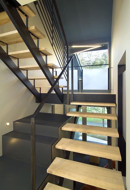 Arlington Residence contemporary-staircase