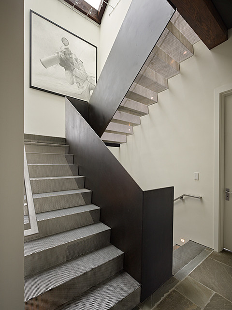 Art house stair modern staircase seattle by for Modern house stairs