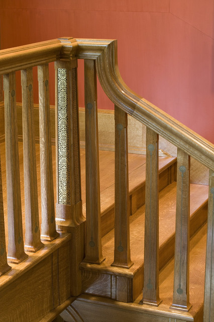 Arts & Crafts Residence - Staircase traditional-staircase