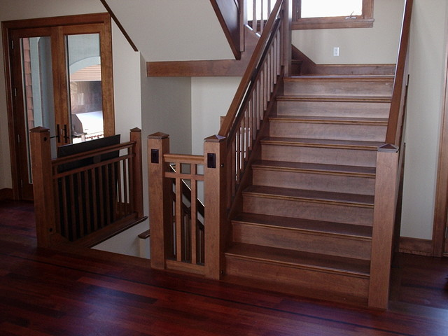 Arts And Crafts Traditional Staircase Other By