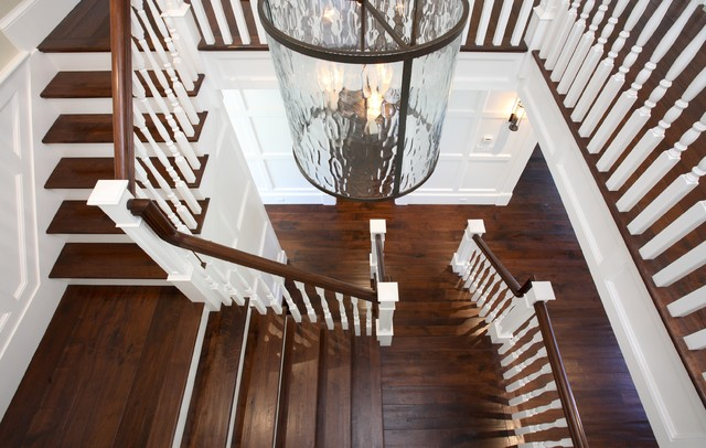 Atherton, California Luxury Home by Markay Johnson Construction traditional-staircase