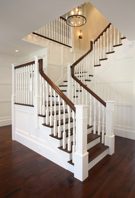 Atherton California Luxury Home by Markay Johnson  : traditional staircase from www.houzz.com size 436 x 640 jpeg 61kB