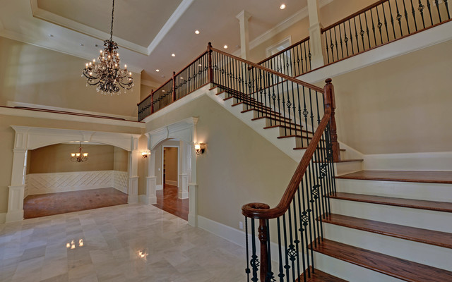 Atlanta Georgia Custom Homes traditional-staircase