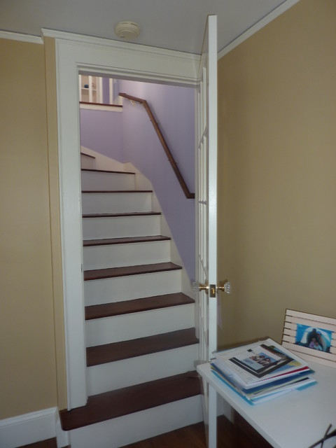 Attic Conversion traditional-staircase