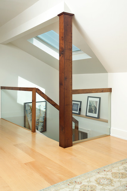 Attic Renovation Modern Staircase Toronto By Arnal